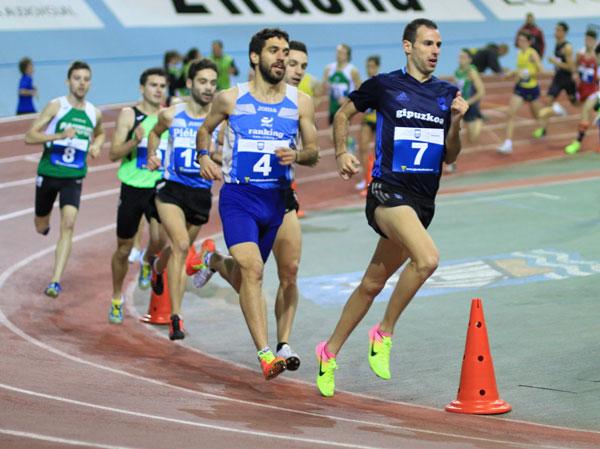 Ayrton Azcue y Javi Nagore en el 3000 m.l.