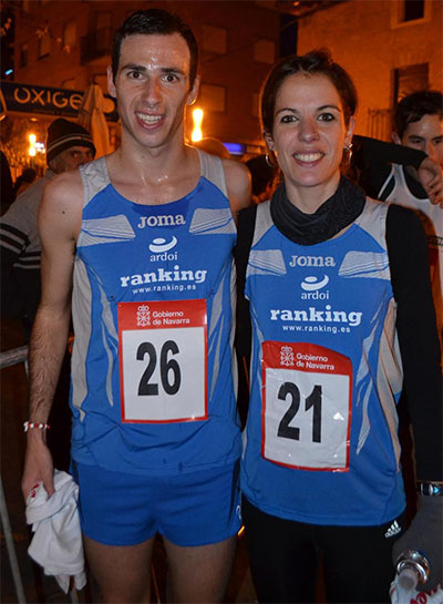 Javier Nagore y Maitane Melero (Foto: Diario de Navarra)
