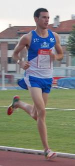 Javier Nagore, en una competición anterior