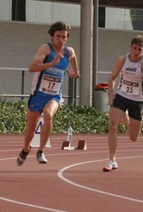 Javier Sanz, en una competición anterior.