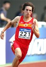 Javier Sanz en una anterior competición internacional.